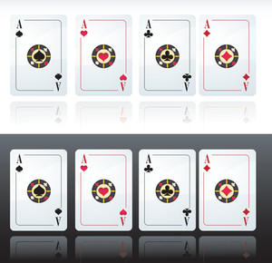 Playing Cards. Vector.