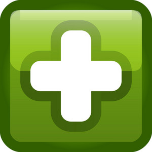 Plus Sign Green Tiny App Icon