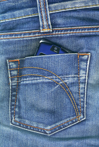 Pocket With Mobile Phone
