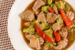Pork Brocoli