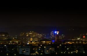 Portland City At Night