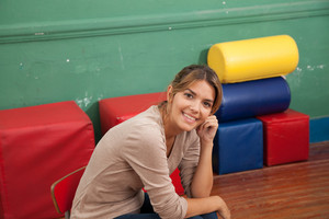 Portrait of a kindergarten teacher