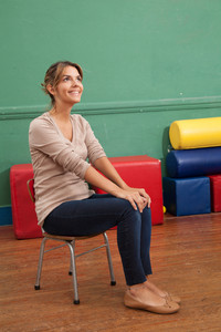 Portrait of a kindergarten teacher