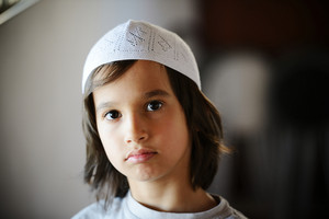 Portrait of kid