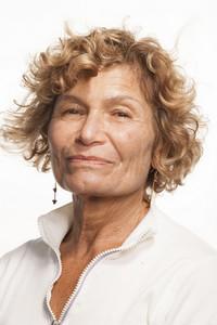 Portrait on white background
