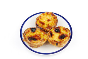 Portugese Pastries Called Pasteis De Nata