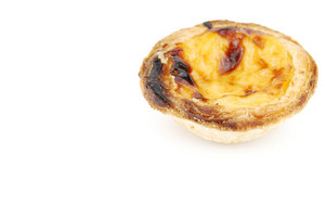 Portugese Pastry Called Pastel De Nata