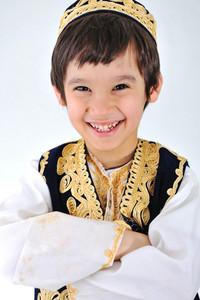 posetive kid muslim