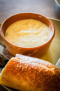 Potato Soup With Bread