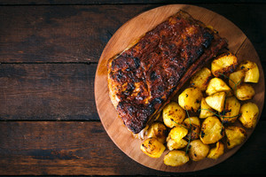 Potatoes And Ribs