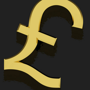 Pound Sign As Symbol For Money Or Wealth