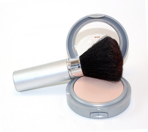 Powder Brush And Makeup