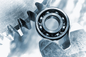 power bearings in close-ups