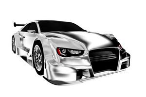 Powerful Race Car