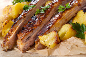 Prebared Ribs And Potatoe