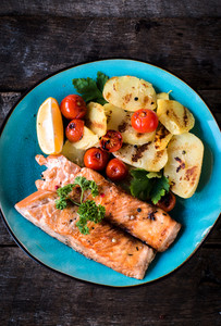 Prepared Salmon Fish