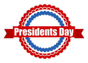 Presidents Day Label