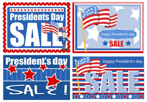Presidents Day Sale Sale Banner And Backgrounds