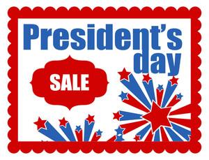 President's Day Vector Banner