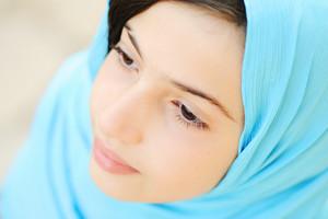 Pretty girl with hijab