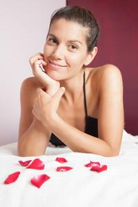Pretty Woman in spa
