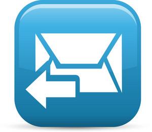 Previous Message Elements Glossy Icon