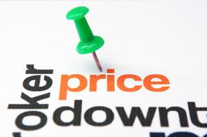 Price Down Concept