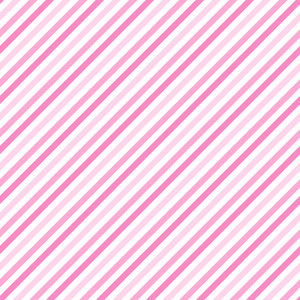 Princess Pink And White Diagonal Stripes Pattern