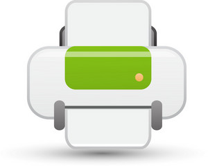 Printer Lite Communication Icon