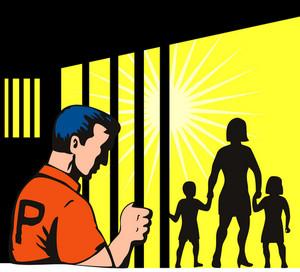 Prisoner And Family