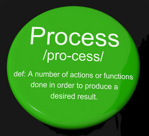 Process Definition Button Showing Result From Actions Or Functions