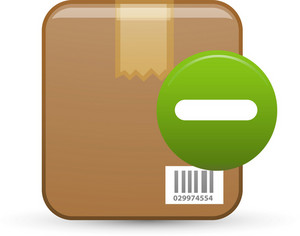Product Remove Lite Ecommerce Icon
