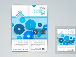 Professional business flyer corporate banner or template design.