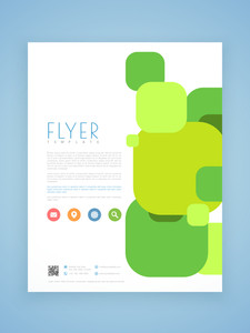 Professional business flyer template or brochure design for your business.