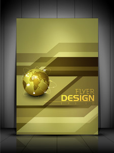 Professional Business Flyer Template Or Corporate Banner Design