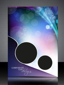 Professional Corporate Flyer Design Presentation. Editable Vector Illustration