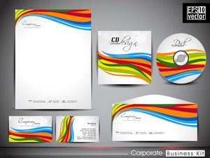Professional Corporate Identity Kit Or Business Kit For Your Business Includes Cd Cover