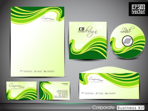 Professional Corporate Identity Kit Or Business Kit For Your Business. Includes Cd Cover
