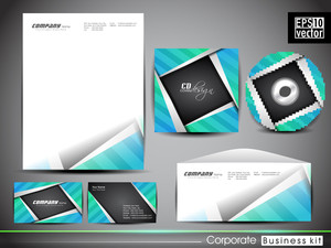 Professional Corporate Identity Kit Or Business Kit