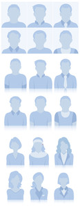 Profile Vector Icons