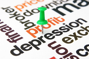 Profit Depression Concept