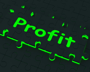 Profit Puzzle Shows Earnings And Investment