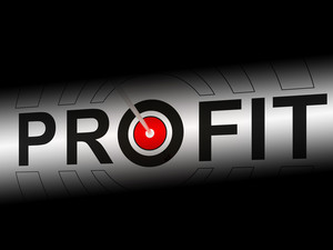 Profit Shows Earning Income And Investment Return