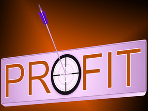 Profit Shows Financial Investment Success