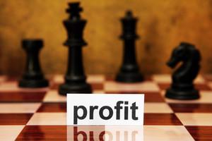Profit Strategy Concept