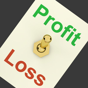 Profit Switch On Representing Market And Trade Earnings