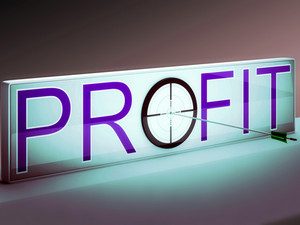 Profit Target Shows Market And Trade Income