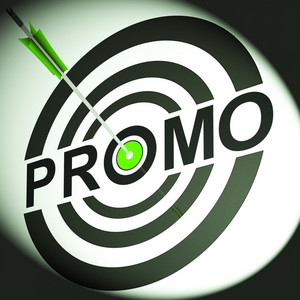 Promo Shows Discounted Advertising Price Offer