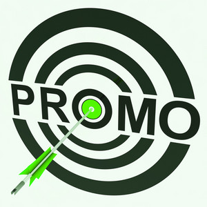 Promo Target Shows Promoted Shopping Sale