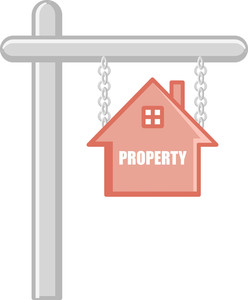 Property - Real Estate Concept - Vector Character Cartoon Illustration